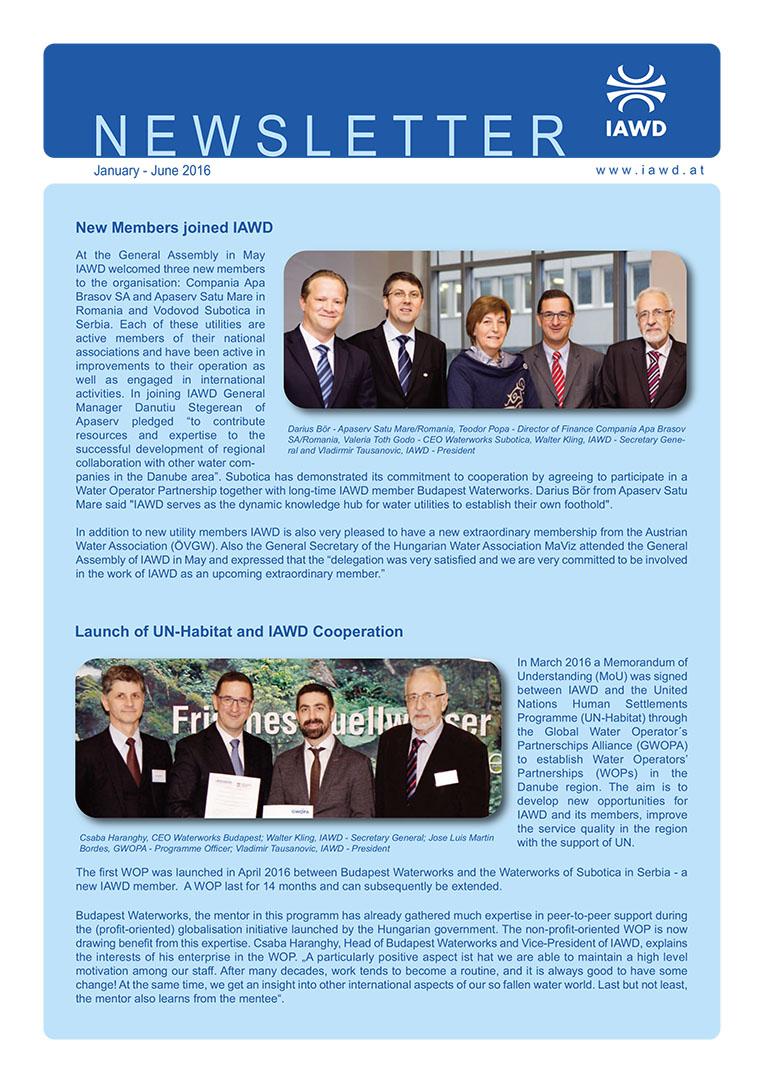 IAWD Newsletter 1/2016