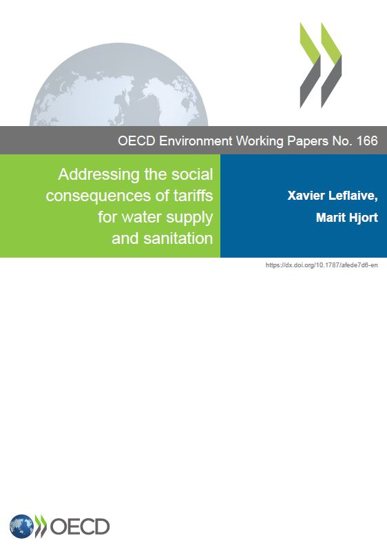 Addressing the social consequences of tariffs for water supply and sanitation