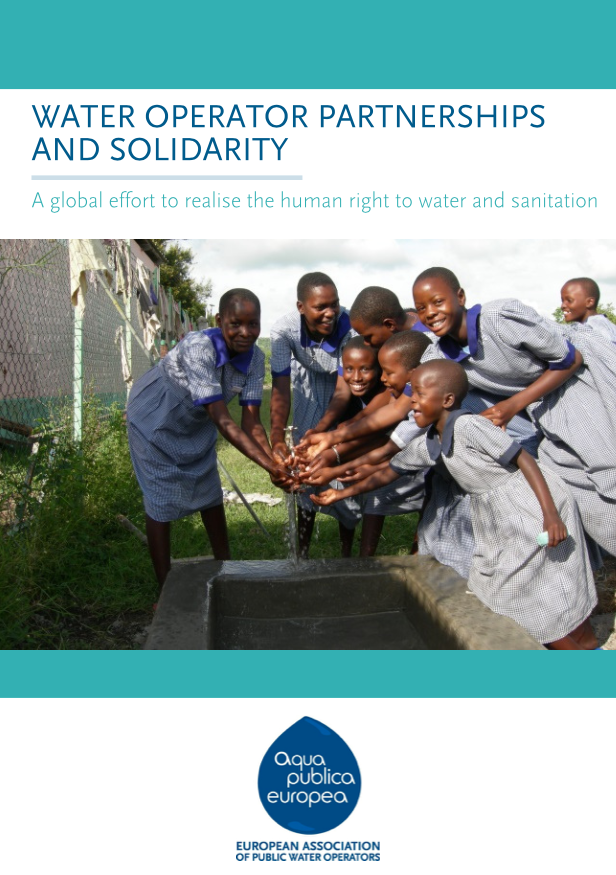 Water Operator Partnerships and Solidarity - A global effort to realise the human right to water and sanitation