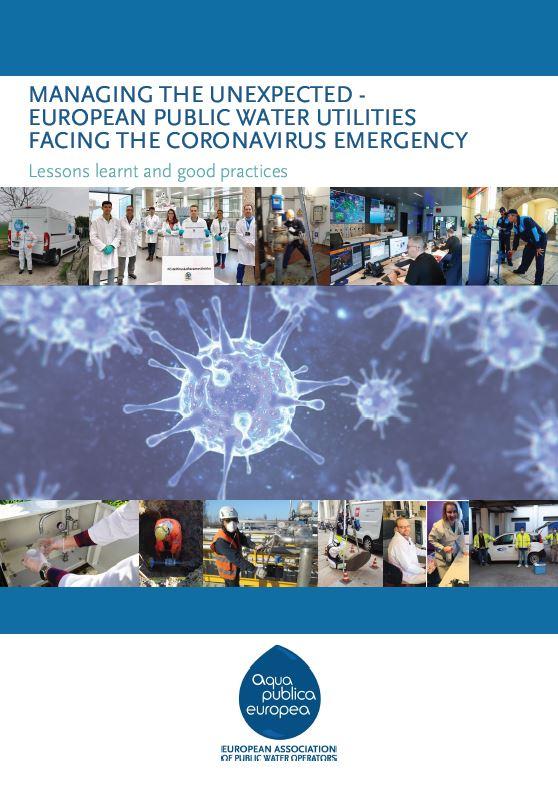 Managing the Unexpected: European Public Water Utilities Facing the Coronavirus Emergency