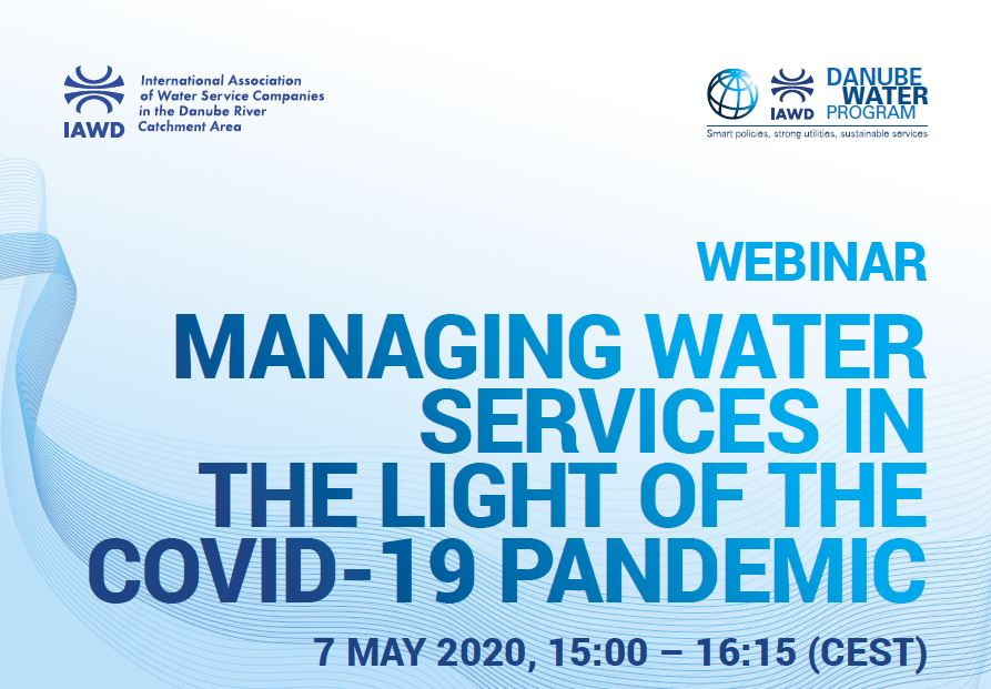 Managing water services in the light of the COVID-19 pandemic