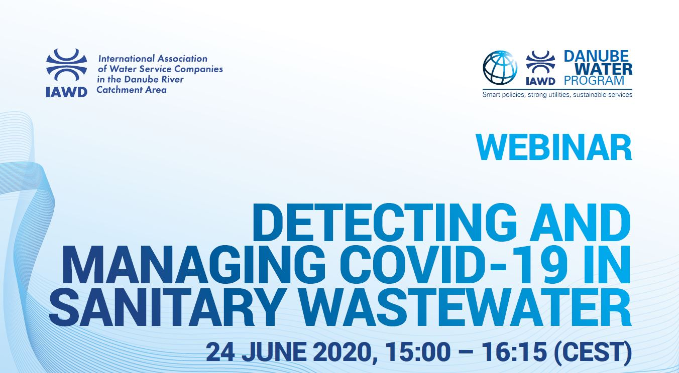 Detecting and managing COVID-19 in sanitary wastewater