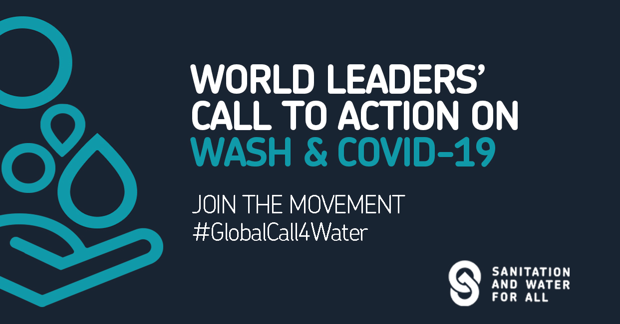 Water, Sanitation and Hygiene: World Leaders' Call to Action on COVID-19