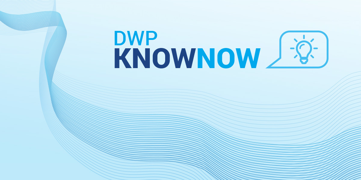 "DWP kicks off the brand-new KnowNow Webinar Series with ""Changes and Chances in the Revised Drinking Water Directive"""