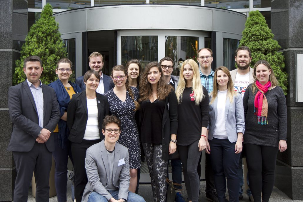 YWP chapter chairs meet at 2018 YWP Danube regional workshop in Vienna
